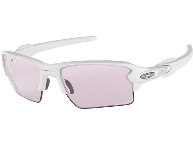 Oakley Flak 2.0 XL Sunglasses Polished White/Prizm Low Light